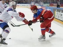 Чемпионат мира по хоккею. Матч Россия - Норвегия