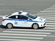 Машина дорожно-патрульной службы