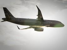 Самолет А320 в воздухе