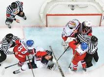 Чемпионат мира по хоккею. Матч Чехия - США