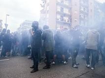 Беспорядки в Италии