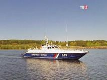 Катер береговой охраны России