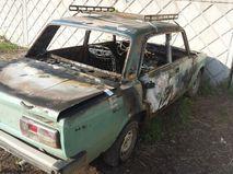 Автомобиль, в котором погиб ребенок