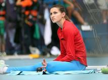 Анна Чичерова на чемпионате мира по легкой атлетике-2013