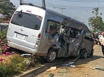 ДТП с участием автобуса в Таиланде