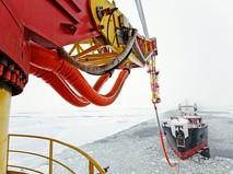 Отгрузка нефти на терминале