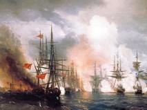 Картина Ивана Айвазовского, русско-турецкая война