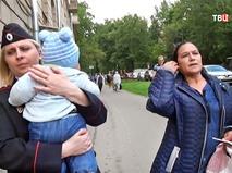 Инспектор полиции и женщина пытавшаяся продать ребенка
