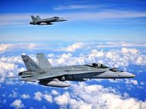 Истребители F/A-18 Hornet ВМФ США