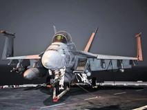 Истребители FA/18 Super Hornet ВВС США