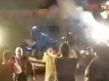 Антиправительственный митинг в Черногории