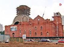 Строительство храма в честь Андрея Рублева