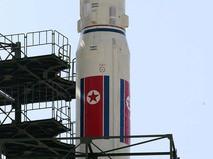 Ракета на стартовой площадке