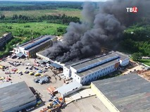 Возгорание автосервиса в Зеленограде