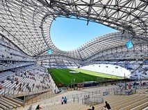 """Стадион """"Велодром"""" находится в Марселе. Именно на этой арене 11 июня сборная России сыграет свой первый матч в рамках финальной части Евро-2016. Соперником россиян будут англичане, игра начнется в 22:00 по московскому времени."""