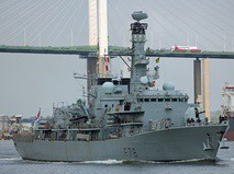 Эсминец HMS Kent Королевского флота Великобритании