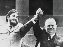 Фидель Кастро и Никита Хрущёв
