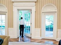 Президент США Барак Обама в Белом доме