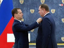 Премьер-министр Дмитрий Медведев вручил государственные и правительственные награды