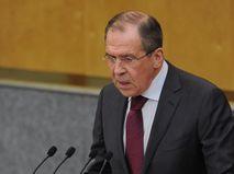 Сергей Лавров в Госдуме