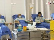 Пациенты дневного стационара гематологического центра Боткинской больницы