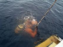 Погружение аквалангиста