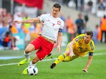 Матч Польша - Украина в рамках чемпионата Евро-2016