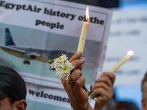 Траур по жертвам авиакатастрофы египетского A320