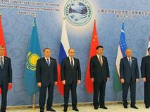 Главы государств-членов Шанхайской организации сотрудничества (ШОС)