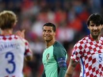 Евро-2016. Хорватия - Португалия.