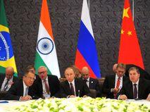 Российская делегация на саммите БРИКС