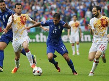 Чемпионат Европы по футболу - 2016. Матч Италия - Испания