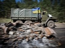 Грузовой автомобиль ВС Украины