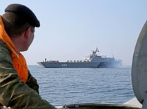 Учения на полигоне Балтийского флота