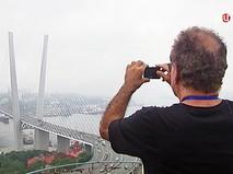 Туристы во Владивостоке
