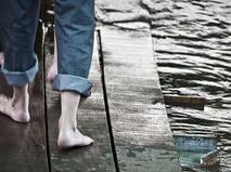 Мостки на воде