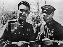 Леонид Ильич Брежнев со своим адъютантом Иваном Павловичем Кравчуком