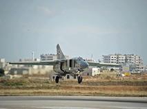 Самолет МиГ-23 сирийских ВВС