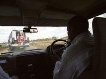 Движение по автомобильной дороге Танзании