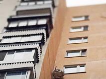 Окна многоквартирного дома