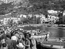Советские туристы на острове Капри