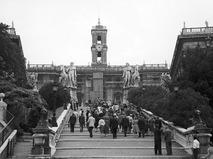 Советские туристы в Риме
