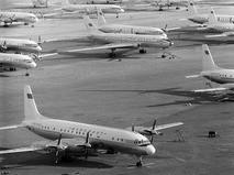 Пассажирские самолёты в аэропорту Внуково