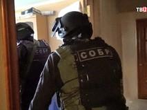 Бойцы подразделения СОБР