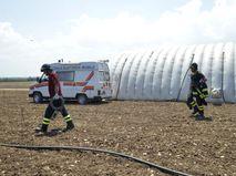 Спасатели в Италии