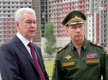 Сергей Собянин осмотрел строение базы для войск Росгвардии