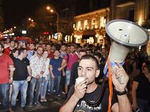 Митинг в Армении
