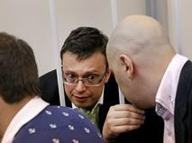 Замруководителя Главного следственного управления Следственного комитета (СК) РФ по Москве Денис Никандров в суде