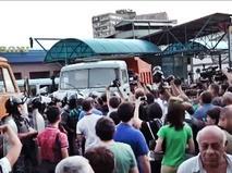 Митинг оппозиции в Армении