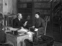 Владимир Ильич Ленин и Иосиф Виссарионович Сталин